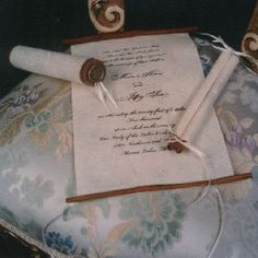 cinderella wedding invitation