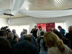 Ejecutivo Ampliado de Vamos Uruguay, del sábado 27 de julio de 2013 en la ciudad de Maldonado. Lanzamiento de la gira 100 pueblos y 100 barrios.