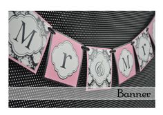 The Sweet Peach Paperie: Damask Bride Collection: Lisa's Bridal Shower