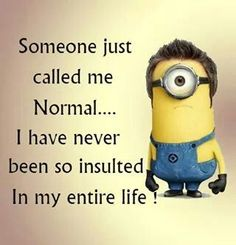 Funny Minions Pictures Of The Week – July 2015 – Minion Quotes & Memes Funny Minion Memes, Minions Quotes, Funny Jokes, Hilarious, Minion Humor, Funny Weird Quotes, Hilarous Quotes, Cute Minion Quotes, Funny Stuff