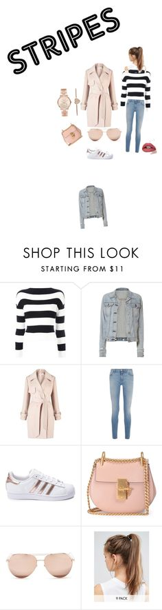 """""""Untitled #3"""" by littlecupcake201201 ❤ liked on Polyvore featuring Boutique Moschino, rag & bone, Miss Selfridge, Givenchy, adidas, Chloé, Linda Farrow, NIKE and Michael Kors"""