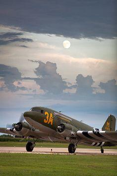 "C-47 Dakota ""Sky King"", the plane my grandfathers flew in the war."