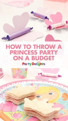 Find out how to throw a princess birthday party without breaking the bank with our guide to how to throw a princess party on a budget. Read on for loads of budget party tips including cheap princess decorations, easy princess party food and more. Princess Birthday Party Games, Disney Princess Party, Tea Party Birthday, 4th Birthday Parties, Princess Party Decorations, 1st Birthday Party Ideas For Girls, Princess Games, Princess Sophia, Princess Tea Party Food