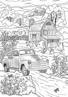 landschaften-malvorlagen-27.gif 680×593 | vorlagen, landschaft