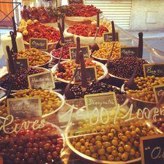 Olives! Antibes, France
