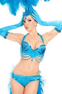 Trashy Lingerie: Showgirl: In Blue $3000