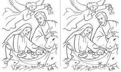 religious spot the difference puzzles to print - Yahoo Image Search ...