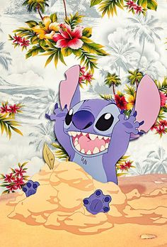 — iPhone Backgrounds→ Lilo and Stitch by request
