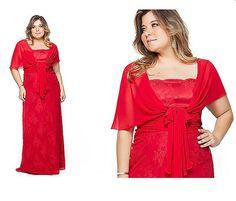 vestido festa suely caliman vermelho