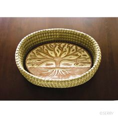 Tree of Life Bread Basket- Connected