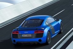 2015 Audi R8 Rear Angle