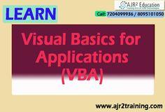 Learn VBA (Visual Basics for Applications)