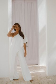 Dominican Republic | Dominican Republic outfits | Dominican Republic packing lists | Dominican Republic outfits summer | White one shoulder jumpsuit | Fashion bloggers | Beach vacation outfits | NYC bloggers | Mimosas & Manhattan