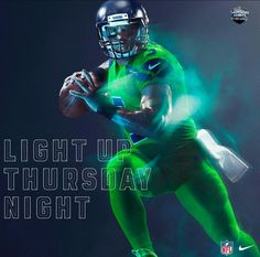 The Seattle Seahawks And Los Angeles Rams Unveil Latest  Color Rush   Uniforms On Thursday Night Football e538630b6