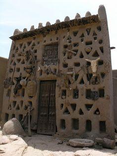 architecture, Mali, Africa