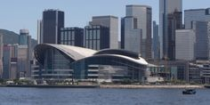 The Hong Kong Convention and Exhibition Centre (HKCEC), in Wan Chai