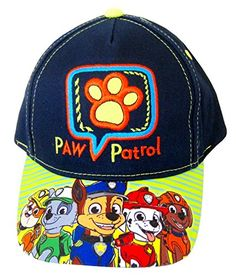 Find best price for ABG Accessories Nickelodeon Paw Patrol Boys Baseball Cap - Toddler. Explore our Boys Fashion section featuring new #shopping ideas of the best collection of #BoysFashion #BoysAccessories and #fashion products online at #Jodyshop Marketplace. Paw Patrol Hat, Paw Patrol Characters, Boys Accessories, Happy Mom, Online Fashion Stores, Navy And Green, Sun Hats, Caps Hats, Toddler Boys