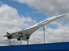 Air France Aérospatiale-BAC Concorde 101 F-BVFB has been on permanent display at the Auto und Technik Museum in Sinsheim, Germany since 2003. (Photo via Flickr: Patrick Barrett)