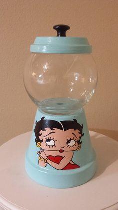 Betty Boop Candy Jar