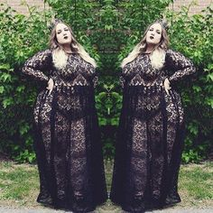 64887300ab 15 Plus Size Women In Sexy Dresses Because We Can t Stop