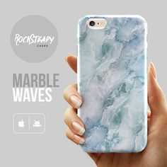 Subtle Blue Marble iPhone 6s case - Premium hard plastic case by Rock Steady Cases. (Also available as phone cases for the models listed below.)