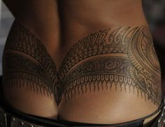 Fancy tramp stamp by ~strangeris on deviantART