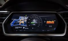 Tesla Model S 17 inch touchscreen screenshots - Google Search