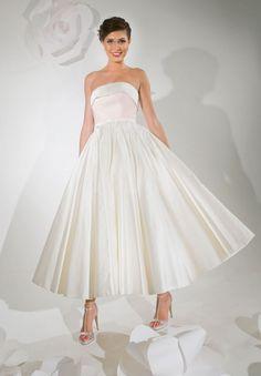 Tea Length Wedding Gown 5