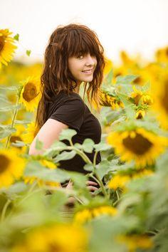 sunflowers! | Senior Photography by PF Conrey