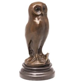 15,2 x 16,1 x 5,8cm Bronzeskulptur Kind Vogel Antik-Stil Bronze Figur Statue