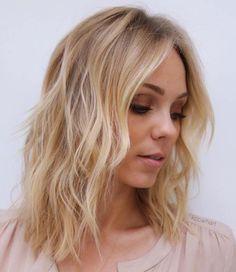 Blonde Shag For Fine Hair