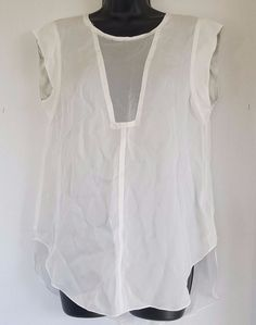 Rebecca Taylor Womens Charlie Silk Top Size 8 #RebeccaTaylor #Blouse