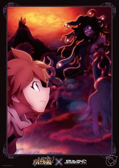 Kid Icarus Uprising- Pit and Medusa