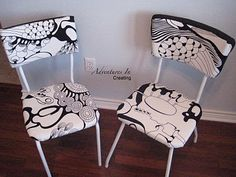 Diy : upcyled chairs