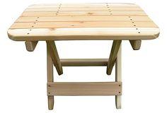 Folding Side Table on OneKingsLane.com