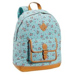 Heritage Pool Ditsy Floral Canvas Backpack #pbteen  okay, i also want this backpack