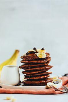 Chocolate Pancakes, Gluten Free, breakfast, baking, recipe