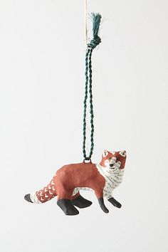 Forest Story Fox Ornament