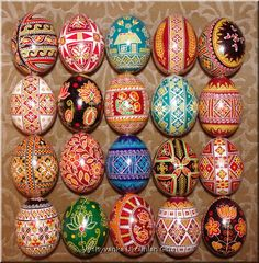 ukrainian easter eggs | Details about 20 Real UKRAINIAN Pysanky Easter EGGS / Egg / Pysanka