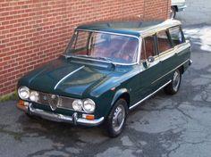 1965 Alfa Romeo Giulia Colli Wagon