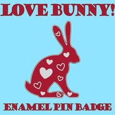 #Repost @flyingcheesetoastie  Still plenty of time to pledge for my new #LoveBunny #EnamelPin Badge on #Kickstarter and get it in time for #ValentinesDay!  We are very close to the first #stretchgoal too only a few more backers to reach it so please share with anyone who might be interested too! Link in my Bio #Enamelpins #pinstagram #pingame #Hare #RubyRed #glitter #hearts #glassofig #Loveislove #madebycooper #pincollection #flair #pingamestrong #Rabbit #Kawaii #loveheart #bemyvalentine…
