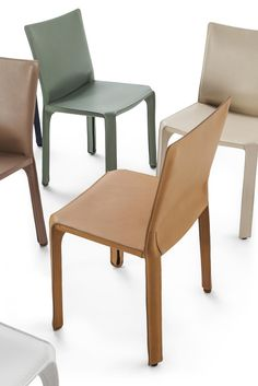 16 new saddle leather colours for the Cab chair by #MarioBellini on show @Cassina #immcologne