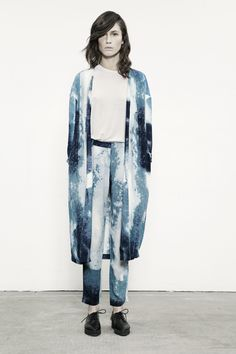 JUST FEMALE SS 13 // Dale Kimono . Dale Pants // Model : Emma Leth