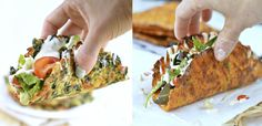 Les mostramos cómo preparar rapiditas de zanahoria y de espinaca y 5 formas posibles de rellenarlas.