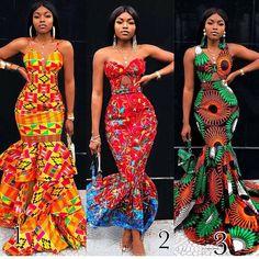 ankara mode Beautiful African Ankara Styles For Curvy Ladies - Beautiful African Ankara Styles For Curvy African Fashion Ankara, Latest African Fashion Dresses, African Inspired Fashion, African Print Fashion, Africa Fashion, Nigerian Fashion, African Style, African Beauty, African Women Fashion
