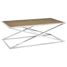 X-Shaped Wood and Metal Coffee Table Furniture Decor, Modern Furniture, Stylish Home Decor, Made Of Wood, Window Coverings, Wood And Metal, Home Furnishings, Table, Family Room