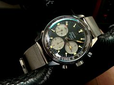 Originally Posted by WatchFred Dogen has set a quality standard for vintage Enicars that is totally impossible to reach, have been searching for Sport Watches, Cool Watches, Watches For Men, Men's Watches, Breitling, Seiko, Gents Fashion, Automatic Watch, Men Watches