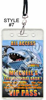 SKYLANDERS GIANTS VIP PASSES WITH LANYARDS$19.99