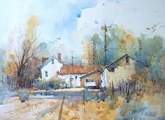 Ian Ramsay Watercolors
