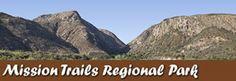 Mission Trails Regional Park in San Diego California USA